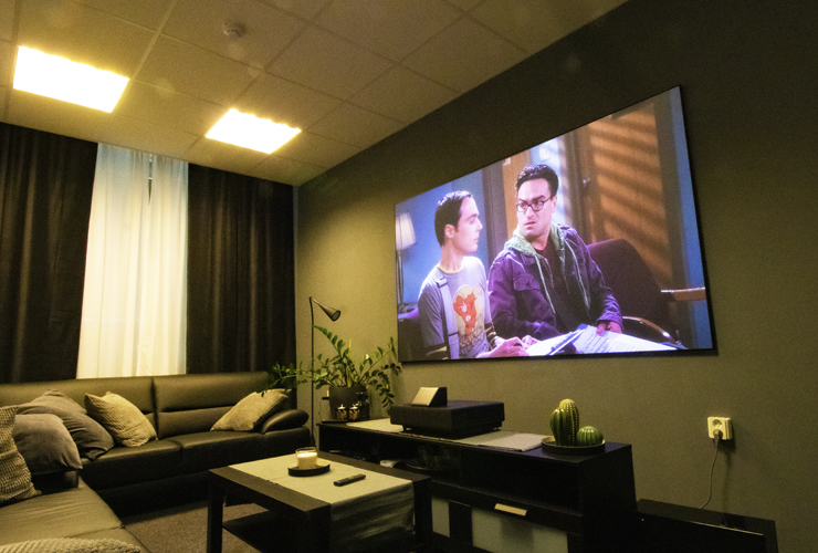 Home Cinema Projection Screen
