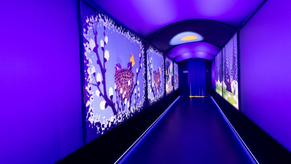 Projekční tunel Galerie ČT